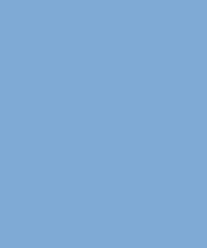 A solid blue image