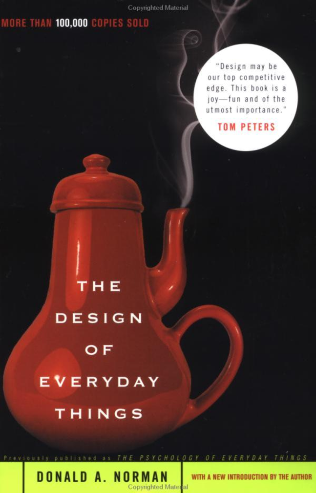 "The Cover of ""The Design of Everyday Things"""